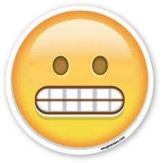Grimacing Face   Emoji Stickers