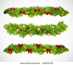 Find Christmas Garlands Vector Illustration stock images in HD and millions of other royalty-free stock photos, illustrations and vectors in the Shutterstock collection. Thousands of new, high-quality pictures added every day. Merry Christmas Photos, Merry Christmas Wishes, Christmas Quotes, Christmas Greetings, Christmas Cards, Christmas Decorations, Christmas Garlands, Decorating With Pictures, Pictures Images