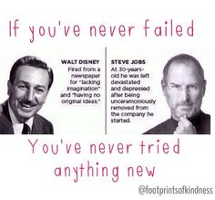 Never give up & never give in #risks #failing @footprintsofkindness