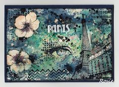 Rosie's Bastelwelt: I love Paris Brusho - Deep Red - Carabelle Studio