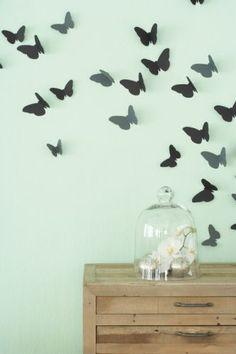 Butterflies.  So cute!  DIY