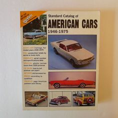 Old Cars Standard Catalog of American Cars '46-'75 (1982, Paperback) Classic Car