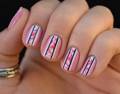 love easy at home nail designs!