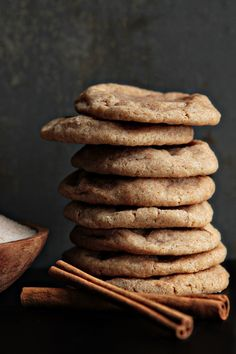 chewy spiced sugar cookies