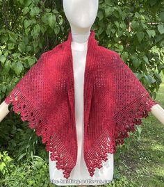 Crochet Cardigan Pattern, Crochet Shawl, Free Crochet, Knit Crochet, Shawl Patterns, Craft Patterns, Knitting Patterns, Crochet Patterns, Basic Crochet Stitches
