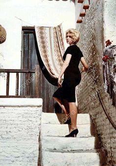 Brigitte Bardot beautiful in black dress 8b20-12793 | eBay