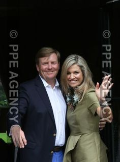 Maxima and Willem Alexander, summer 2016 official photo