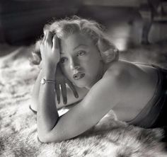 Marilyn Monroe in a 1951 photo by John Florea