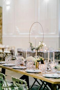 Wedding with Geometric Details Wedding Bells, Wedding Ceremony, Wedding Venues, Wedding Day, Wedding Centerpieces, Wedding Decorations, Table Decorations, Centrepiece Ideas, Elizabeth Anne