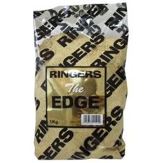 Ringers The Edge Margin Mix only £2.99  #Ringers #WarringtonAnglingCentre  Created mainly for margin fishing, with Big fish in mind, it's a heavy nut based mix with a strong nutty aroma. Steve designed this mix to sit on the bottom in margin swims along the theory that it wouldn't be moved out of the swim when big fish get feeding. He made it heavy to stop it being wafted away from the feeding hotspot, so giving the angler a better chance of keeping the larger fish within margin range.