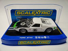 Scalextric US Exclusive Ford GT40 MKII w Lights 1 32 Scale Slot Car C3231 | eBay
