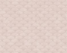 Wallpaper Herman, Pink.  Herman Wallpaper is a classic mussel pattern that is very contemporary. The design comes from a small detail in the Harriet medallion pattern that we liked so much we turned it into a whole new wallpaper. New England is known for its coastal towns and Herman's shell motifs bring an attractive touch of the seaside to your home.