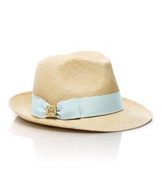 Tory Burch classic grosgrain fedora want it so bad Tory Burch, Bandanas, Brim Hat, Fedora Hats, Women's Hats, Love Hat, Summer Hats, I Love Fashion, Women's Fashion