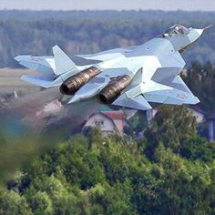 Defence News - New Robotic Indo-Russian Fighter Jet Fit for Star Wars Military Jets, Military Aircraft, Air Fighter, Fighter Jets, Russian Plane, Russian Air Force, Sukhoi, Military Equipment, Jet Plane