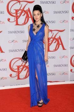 Jessica Stam in Jason Wu for 2012 #CFDA Awards