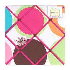 Sweet JoJo Designs Deco Dot Photo Bulletin Board
