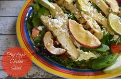 Southern Mom Loves: Day 4: Fuji Apple Chicken Salad {12 Days of Favorite Recipes}
