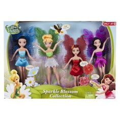 Disney Fairies 9'' Exclusive 4 Pack (Does not have to be 4 pack, any of the Disney Fairies dolls)
