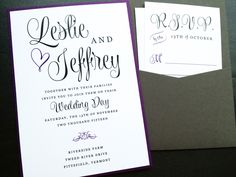 Wedding Invitation Wedding Wishes Pocket by LittleSparkCreations, USD3 ...