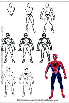 Learn How To Draw Spiderman Spiderman Step By Step Drawing
