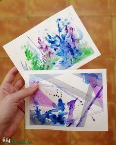 Ez a két akvarell festmény tökéletes dísze lehet otthonunknak. Színei révén azonnal magára vonzza a tekintetünket. Jól harmonizáló színeivel együttesen feltűnő éke lehet lakásodnak.   Egy kép mérete 13 x 18 cm, akvarellpapírra készítettem őket akvarellfestékkel. Polaroid Film, Photo And Video, Instagram