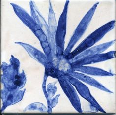 Gorgeous tile by Garden Aquatics Delft Tiles, Blue Tiles, Love Blue, Blue And White, Blue China, Decorative Tile, Tile Art, Tile Patterns, Chinoiserie