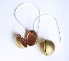 The Secret Orb earrings by Betsy and Iya $32