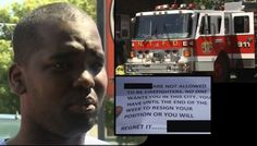 Swift arrest made after black firefighter's house & pets burned down following racial threat