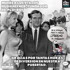 "#ElCartonDelDia @purakuraweb ""DESCANSE EN PAZ"" #HughHefner@hughhefner #LigaMx@LIGABancomerMX @Chivas #Chivas @ClubAmerica #LeonVsAmerica"
