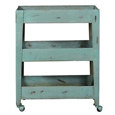 Metal Blue Bar Cart  http://www.lesspectaclesfrenchindustrial.com/products/pulaski-accentrics-home-mesh-shelf-metal-bar-cart-in-blue-1?utm_campaign=crowdfire&utm_content=crowdfire&utm_medium=social&utm_source=pinterest #yourmyboyblue.#etsyshop #industrialshelving #instagram #industrialpipeshelf #industrial #lesspectaclesfrenchindustrial #lsfi #design #handmade #architecture #decor #designer #art