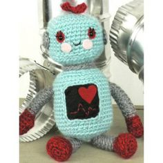 10 Men's Free #Crochet Patterns for Father's Day: Amigurumi Robot