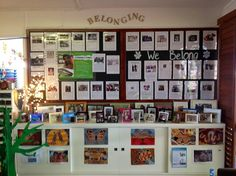 Our belonging corner is looking so beautiful now. We acknowledge the traditional owners of the land on which we stand - the Kombumerri people and are proud to include our ancestors as part of our community. Learning Stories, Learning Spaces, Learning Environments, Reggio Classroom, School Classroom, Classroom Ideas, Inquiry Based Learning, Early Learning, Classroom Setting
