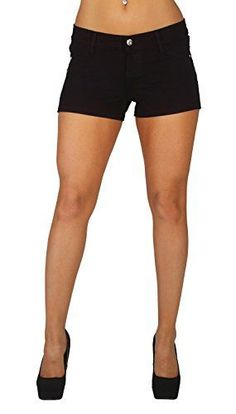 Women s Casual Shorts - UTurn Jeans Womens Shorts with French Terry With  gentle butt lift stitching a5e05bb3a0