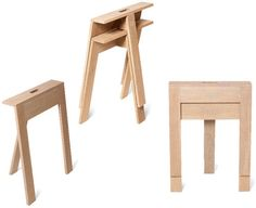 Base de mesa de madera TRACY'S TRESTLES studiomama