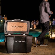 Standard Cooler // Black Featuring rich yet elegant in their simplicity, Sovaro coolers offer uncompromised style and performance wherever life takes you, be it an intimate backyard gat Soft Sided Coolers, Popular Mens Fashion, Product Offering, Home Art, Modern Design, Backyard, Cool Stuff, Elegant, Life