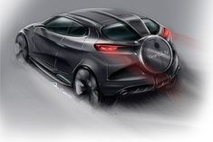 Alfa Romeo - SUV concept on Behance