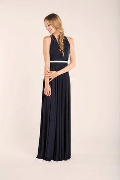 Bridesmaid Dress Infinity Navy Blue dress Ready to ship by mimetik