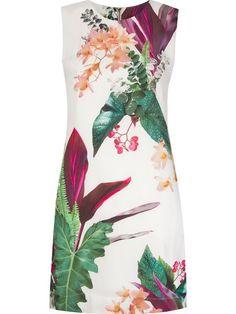 Osklen Vestido Estampado - Osklen - Farfetch.com