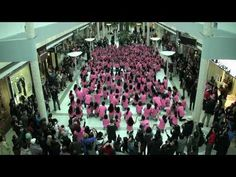 Anti-Bullying #Flashmob 2011. In honor of International Anti- #Bullying Day, two schools came together to create a message about #acceptance and challenge others to use social media as a positive tool.