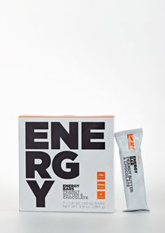 Energy Bar provides a quick pre-workout energy boost with a chocolate and peanut butter flavor.