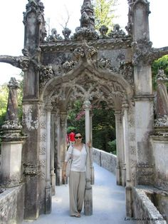 quinta-regaleira-sintra Lisbon Airport, Why Do People, Catholic, Cathedral, Portugal, Castle, Louvre, The Incredibles, Travel