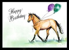 Horse Birthday Greetings | Discuss Happy Birthday Lacys Mom ! at the Off Topic forum - Other ...