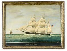 Bark 'Smyrniote', 1861