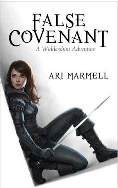 Dragons, Heroes and Wizards: False Covenant by Ari Marmell | Young Adult Fantasy | Book Review - So much for Widdershins trying to live a normal life. Not that having a god riding around in your head could be considered normal....