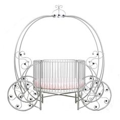 Regal Pumpkin Carriage Crib in Choice of Finish from PoshTots