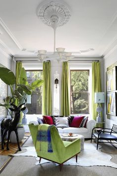 Interior DesignerFawn Galliis a woman with a unique and inspiringvision. The 2,500 square foot Brooklyn brownstone townhouse she shares with her husband Julio Salcedo, an architect, and their two sons,...
