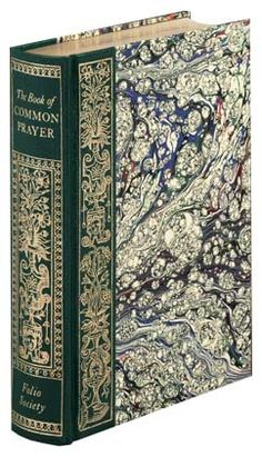 An exquisite facsimile edition of The Book of Common Prayer