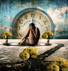 Constrained by Time by kimsol on DeviantArt Dali, Surreal Artwork, Father Time, Timing Is Everything, As Time Goes By, Conceptual Photography, Time Photo, Time Art, Belle Photo