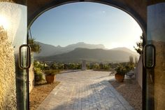 Haute Cabriere view - Franschhoek, South Africa- 5 minutes from La Clé des… South African Holidays, South African Homes, Wine Tourism, Namibia, Villa, African Safari, Africa Travel, Cape Town, Airplane View