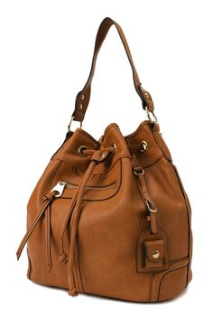 Scarleton Large Drawstring Handbag H1078 - Visuall.co